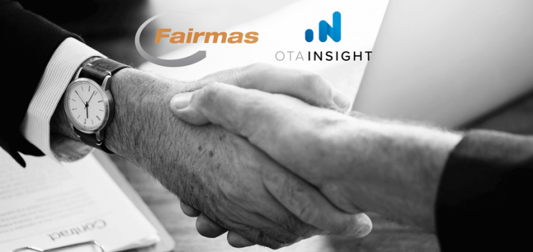 Fairmas boosts global presence through data integration with OTA Insight