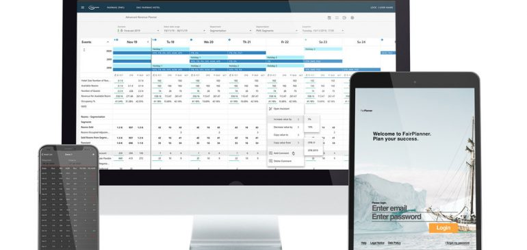 Fairmas unveils the advanced features of the daily revenue planning module at ITB Berlin