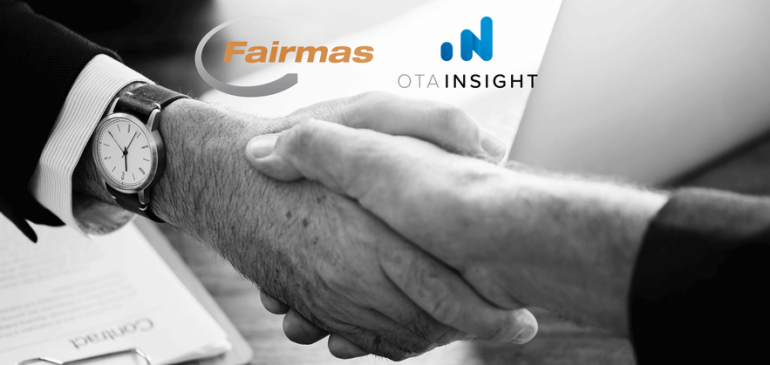 Fairmas y OTA Insight se asocian para integrar sus datos
